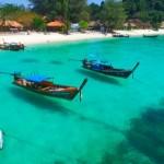 【最強コラボ=綺麗な海×夕日】タイ最後の楽園リペ島でドローン空撮の旅!