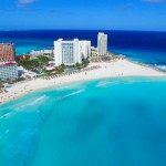 【カリブの楽園】カンクンビーチドローン空撮!美しい青と白のコントラストCancun