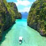 【フィリピン秘境】エルニド絶景!アイランドホッピングドローン空撮EL Nido