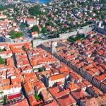 【ドゥブロヴニク×ドローン空撮】魔女の宅急便のクロアチア旧市街
