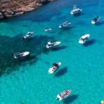 【コミノ島×ドローン空撮】マルタ共和国青の洞窟ブルーラグーン