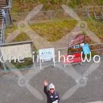 【夢の吊り橋×Phantom4】静岡県川根本町 紅葉レインボーブリッジドローン空撮
