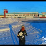 【冬の北海道×Phantom4_Pro_4K】2017年雪道初日の出北見市端野町