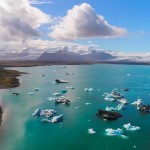 【South Iceland×Drone4K】南アイスランド白夜ドローン空撮